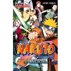 Naruto Anime Comic nº 03: La leyenda de la piedra de Gelel