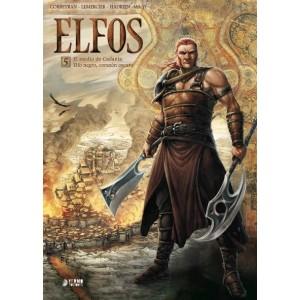 ELFOS . Volumen 5: El asedio de Cadanla y Elfo negro, corazón oscuro