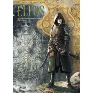 ELFOS . Volumen 9 : LASANGRE NEGRA DE LOS SILVANOS / ALYANA