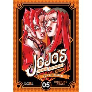 JoJo's Bizarre Adventure Parte 05: Vento Aureo nº 05