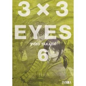 3x3 Eyes nº 06