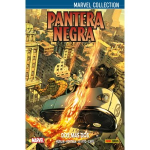 Marvel Collection. Pantera Negra de Hudlin nº 03 APLAZADO