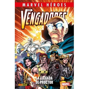 Marvel Héroes nº 99. Los vengadores,la Llegada de Proctor APLAZADO