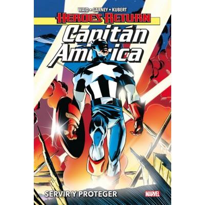 CAPITAN AMERICA 01. SERVIR Y PROTEGER