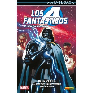 Marvel Saga nº 102. Los 4 Fantásticos de Jonathan Hickman 5 Dos Reyes