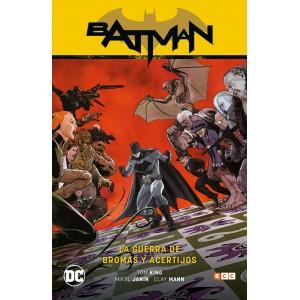 Batman vol. 6: La guerra de bromas y acertijos (Batman Saga - Renacimiento parte 6) APLAZADO