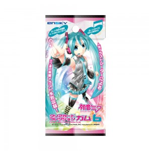 Hatsune Miku Clear Card Collection Gum 6