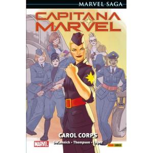 Marvel Saga nº 100. Capitana Marvel nº 06 Carol Corps