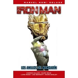 Marvel Now! Deluxe. Iron Man de Kieron Gillen 3 Los anillos del Mandarín