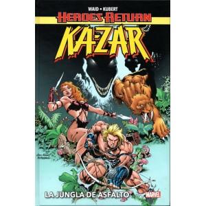 Heroes Return. Ka-Zar: La jungla de asfalto