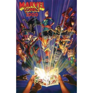 Marvel Comics 1000 HC (Inglés)