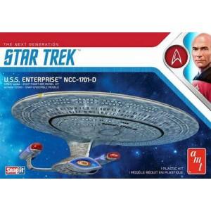 STAR TREK USS ENTERPRISE D (SNAP) MK