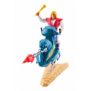 Masters of the Universe Origins - Set Prince Adam + Sled (Mattel)