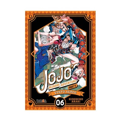 JoJo's Bizarre Adventure Parte 05: Vento Aureo nº 06