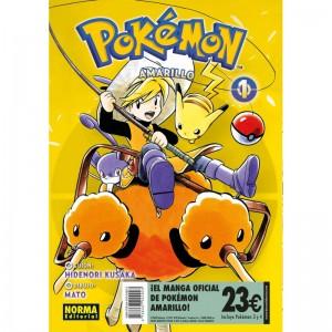 Pokemon Amarillo Pack de Iniciación nº 01 / nº 02