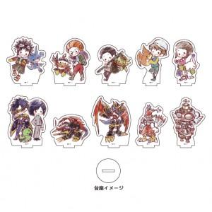 Digimon Adventure 02 Acrilic Petit Stand 01 - Graff Art Design