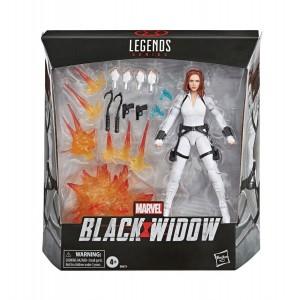 Marvel Legends Black Widow - Black Widow Traje Blanco