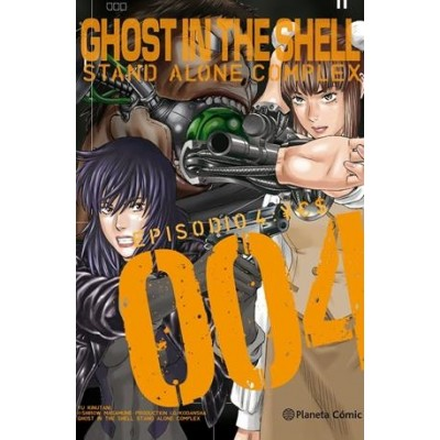 Ghost in the Shell: Stand Alone Complex nº 04