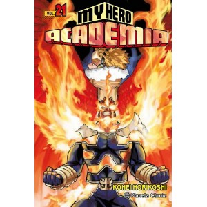 My Hero Academia nº 21
