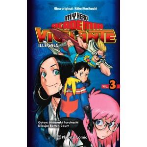 My Hero Academia: Vigilante Ilegals nº 03