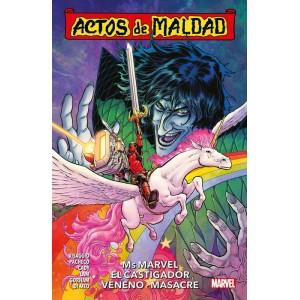 Actos de Maldad nº 01. Ms Marvel, El Castigador, Veneno, Masacre