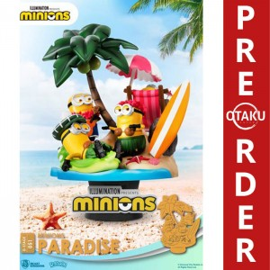 Minions Diorama PVC D-Stage Paradise