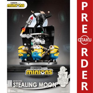 Minions Diorama PVC D-Stage Stealing Moon