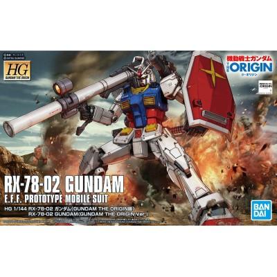 HG GUNDAM RX-78-02 ORIGIN 1/144