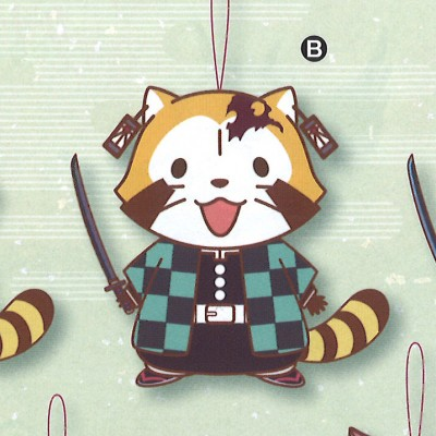 Kimetsu no Yaiba x Rascal the Raccoon Collaboration Plush - Tanjiro  Rascal Ver.