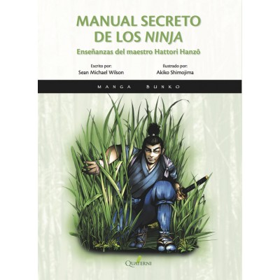 MANUAL SECRETO DE LOS NINJA - MANGA