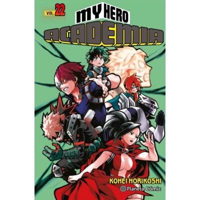 My Hero Academia nº 22