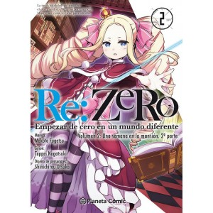 Re:Zero Chapter 2 nº 02 (Manga)