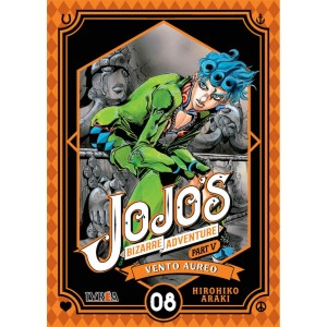 JoJo's Bizarre Adventure Parte 05: Vento Aureo nº 08