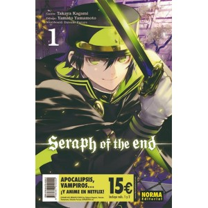 Seraph of the End Pack de Iniciación nº 01 / nº 02