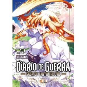 Diario de guerra - Saga of Tanya the Evil nº 09