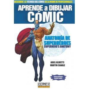 Aprende a dibujar cómic: Anatomía de superhéroes