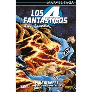 Marvel Saga nº 104. Los 4 Fantásticos de Jonathan Hickman 6 Para Siempre