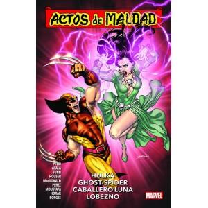 Actos de Maldad nº 02. Hulka, Ghost-Spider, Caballero Luna, Lobezno