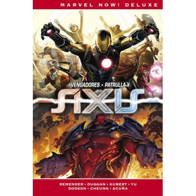 Marvel Now! Deluxe. Imposibles Vengadores nº 03. Axis