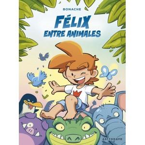 Félix entre animales