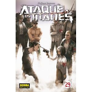 Ataque a los Titanes nº 29