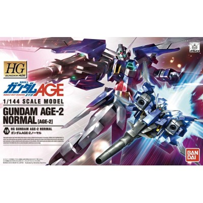 HG GUNDAM AGE-2 NORMAL 1/144