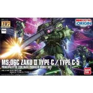 HG ZAKU II TYPE C/TYPE C-5 1/144