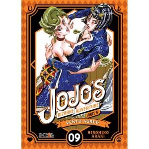 JoJo's Bizarre Adventure Parte 05: Vento Aureo nº 09
