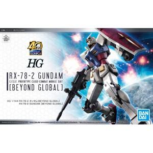 HG RX-78-2 GUNDAM BEYOND GLOBAL 1/144
