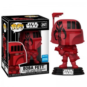 Star Wars Funko POP! 297 Boba Fett Limited Edition Exclusive