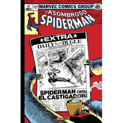 Marvel Gold - El Asombroso Spiderman nº 10: ¿Héroe o Amenaza?