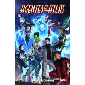Héroes Marvel - Agentes de Atlas: Pandemónium