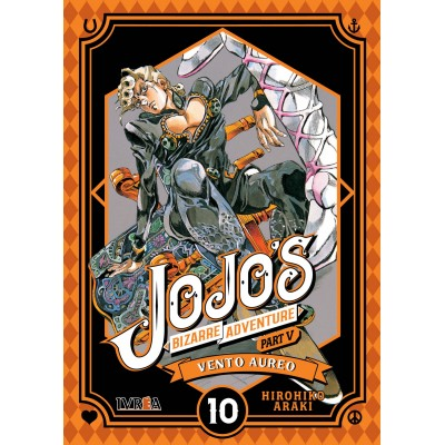 JoJo's Bizarre Adventure Parte 05: Vento Aureo nº 10