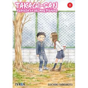 Takagi-san, experta en bromas pesadas nº 08
